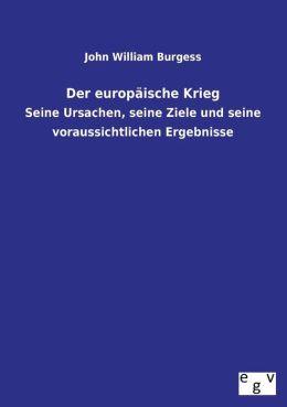 Der Europaische Krieg