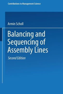 Balancing and Sequencing of Assembly Lines