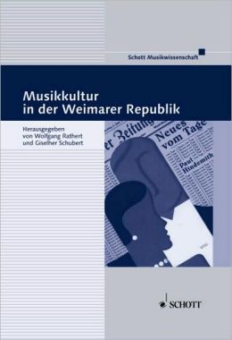 Musikkultur Weimarer Republik: German Language