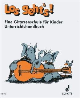 Geht's!: Guitar Method for Children: Teacher's Book (German Text)