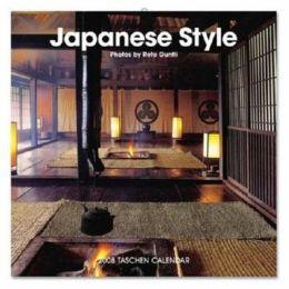 Japanese Style Taschen Calendar