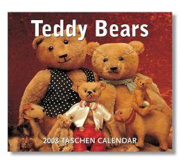 2008 Teddy Bears Box Calendar