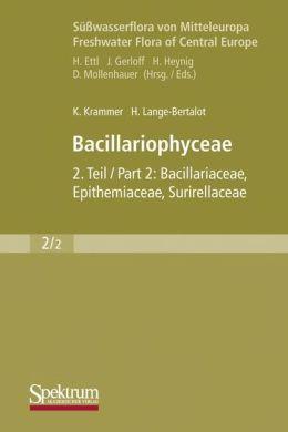 Süsswasserflora von Mitteleuropa, Bd. 02/2: Bacillariophyceae: Teil 2: Bacillariaceae, Epithemiaceae, Surirellaceae