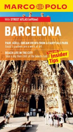 Barcelona Marco Polo Travel Guide: The best guide to Barcelona's art, culture, nightlife, restaurants and much more