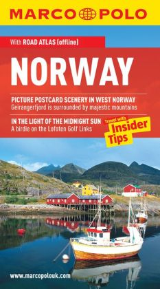 Norway Marco Polo Travel Guide: The best guide to Oslo, Bergen, Trondheim, Stavanger and much more