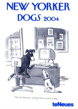 2004 New Yorker Dogs Weekly Engagement Calendar
