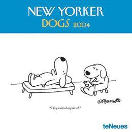 2004 New Yorker Dogs Wall Calendar