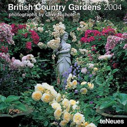 2004 British Country Gardens Wall Calendar