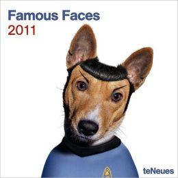 2011 Famous Faces Wall Calendar