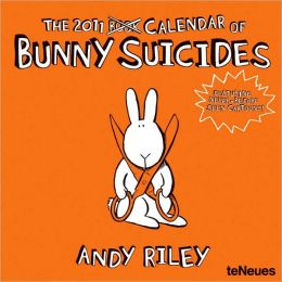 2011 Bunny Suicides Wall Calendar