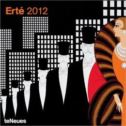 2012 Erte Wall Calendar
