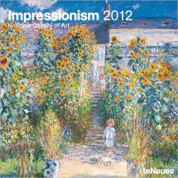 2012 Impressionism Wall Calendar