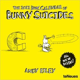 2012 Bunny Suicides Mini Wall Calendar