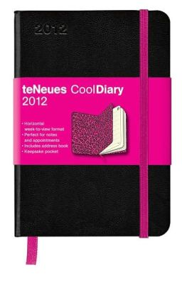 2012 Black/Leopard Pink Cool Diary Weekly (Small) Calendar