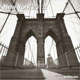 2012 New York Wall Calendar
