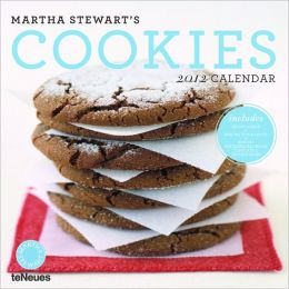 2012 Martha Stewart's Cookies Wall Calendar