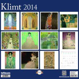 2014 Gustav Klimt Wall Calendar
