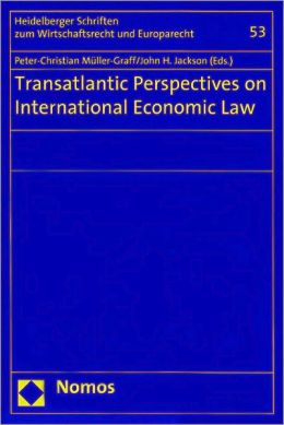 Transatlantic Perspectives on International Economic Law