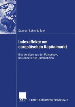 Auswirkungen des Indexeffektes an europäischen Aktienmärkten auf die Eigenkapitalkosten der Unternehmung