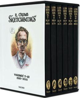 Robert Crumb: The Sketchbooks: 1981 - 2012, 6 Vol.