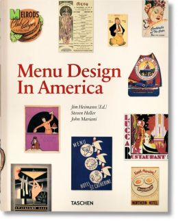 Menu Design in America: 1850-1985