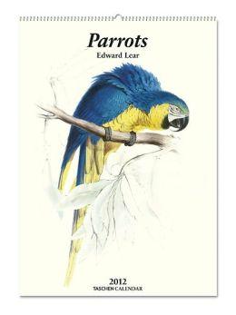 2012 Lear, Parrots Clothbound Engagement Calendar