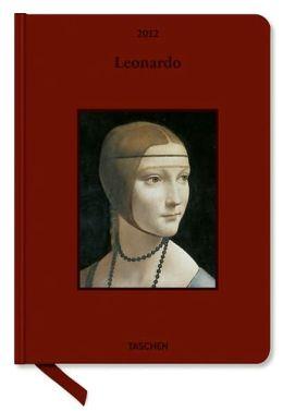 2012 Leonardo Small Clothbound Engagement Calendar