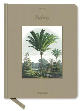 2012 Palms Clothbound Engagement Calendar
