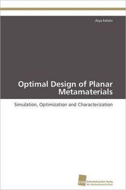 Optimal Design of Planar Metamaterials