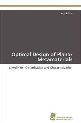 Optimal Design of Planar Metamaterials