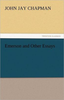 Emerson And Other Essays
