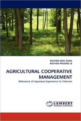 Agricultural Cooperative Management