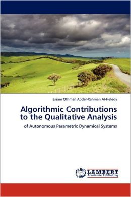 Algorithmic Contributions To The Qualitative Analysis