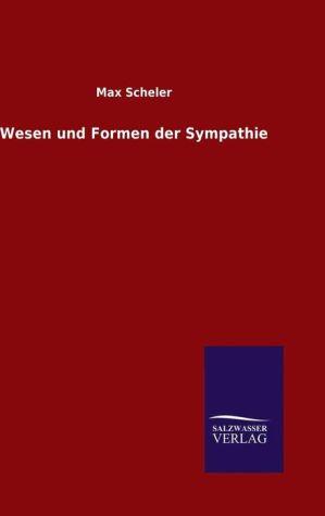 9783846082379 - Max Scheler: Wesen und Formen der Sympathie - Book