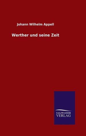 9783846082881 - Werther und seine Zeit - كتاب