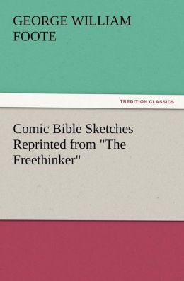 Comic Bible Sketches Reprinted from 