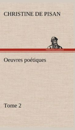 Oeuvres Po Tiques Tome 2