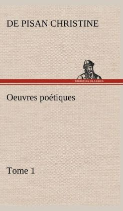 Oeuvres Po Tiques Tome 1