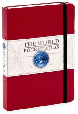 The World Pocket Atlas Red