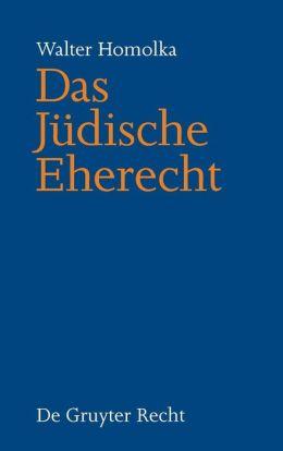 Das Judische Eherecht