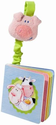 Haba My Farm Animals Baby Stroller Book