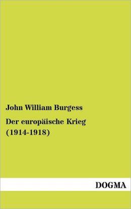 Der europ ische Krieg (1914-1918)