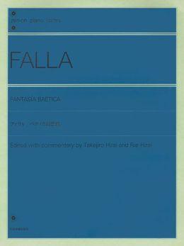 Fantasia Baetica: Piano Solo