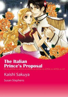 The Italian Prince's Proposal: Harlequin comics