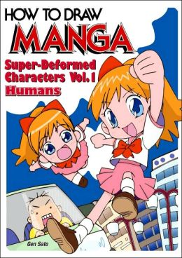 How to Draw Manga, Volume 18: Super-Deformed Characters, Volume 1: Humans