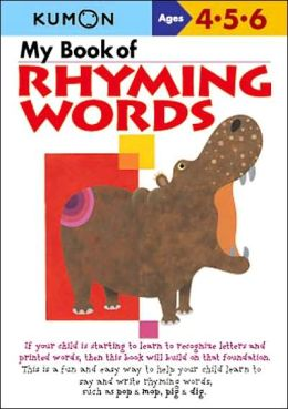 My Book of Rhyming Words (Kumon Series)
