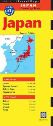 Japan Travel Map Fourth Edition