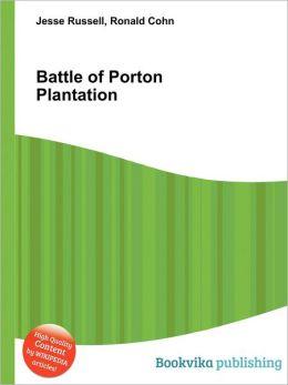 Battle of Porton Plantation
