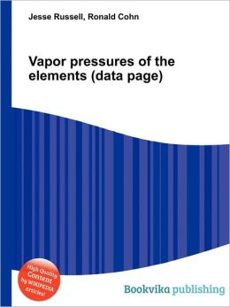 Vapor Pressures Of The Elements (data Page) on Chemical Element