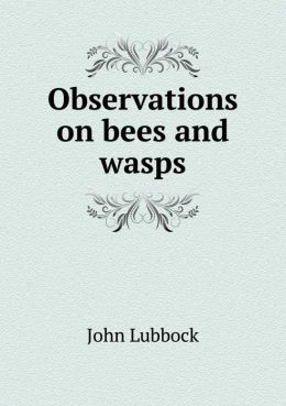 Observations on Bees and Wasps